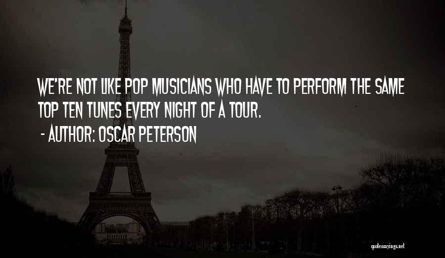 Tunes Quotes By Oscar Peterson