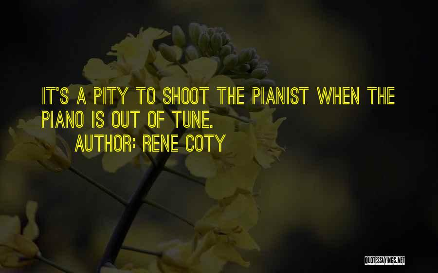 Tunes Quotes By Rene Coty