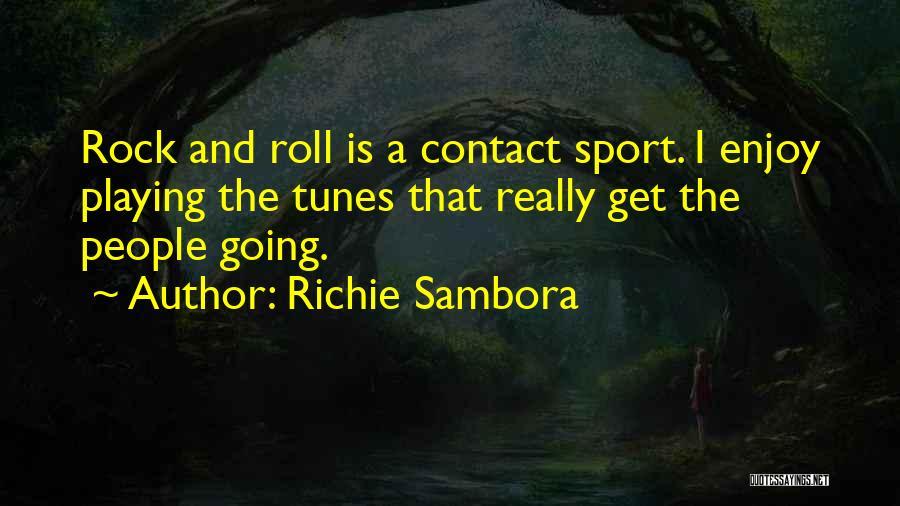 Tunes Quotes By Richie Sambora