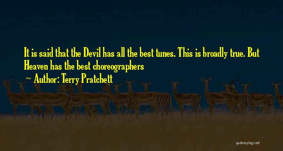 Tunes Quotes By Terry Pratchett