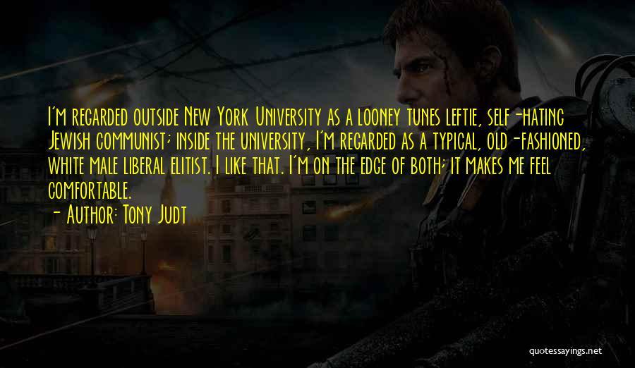 Tunes Quotes By Tony Judt