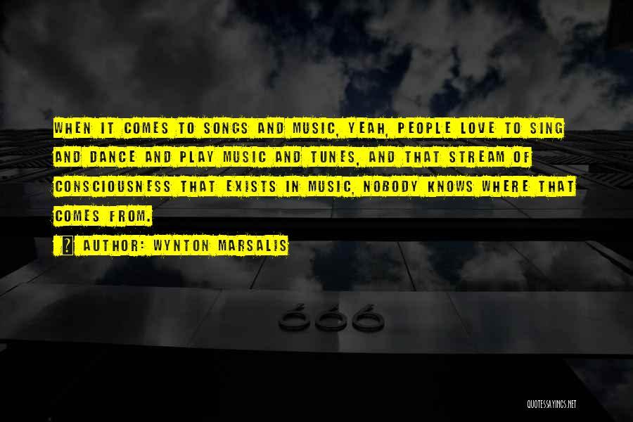 Tunes Quotes By Wynton Marsalis