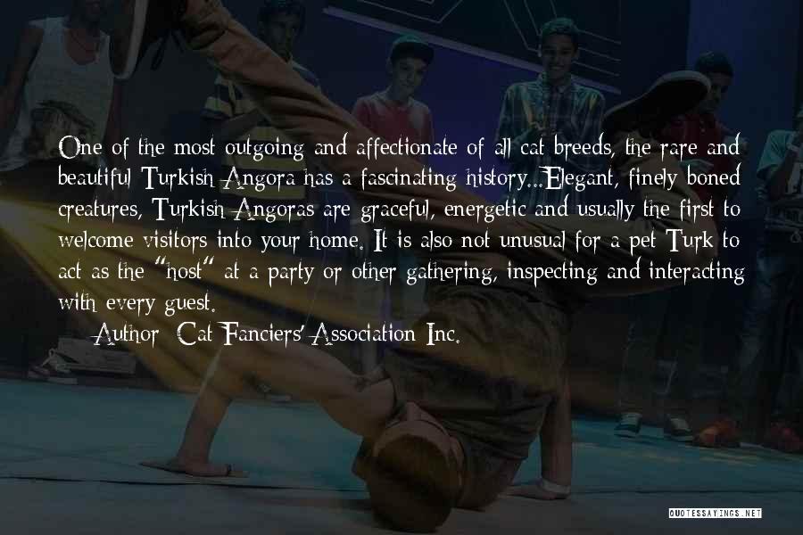 Turk Quotes By Cat Fanciers' Association Inc.