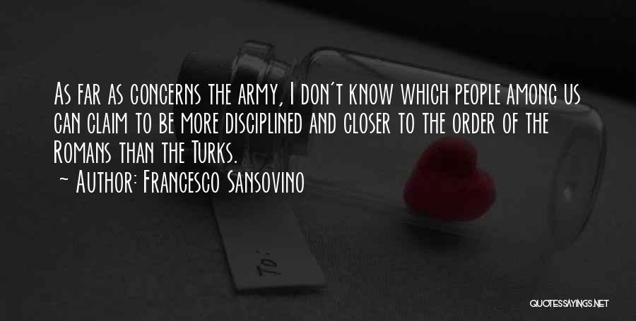 Turk Quotes By Francesco Sansovino
