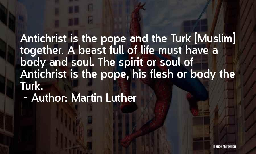 Turk Quotes By Martin Luther