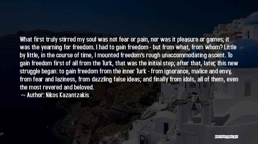 Turk Quotes By Nikos Kazantzakis