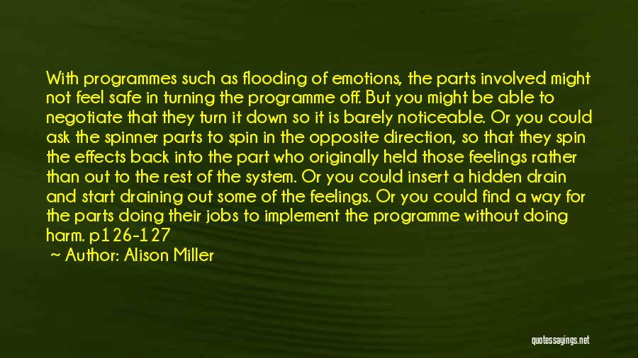 Turn Off Quotes By Alison Miller