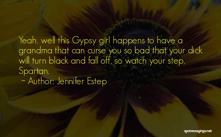 Turn Off Quotes By Jennifer Estep