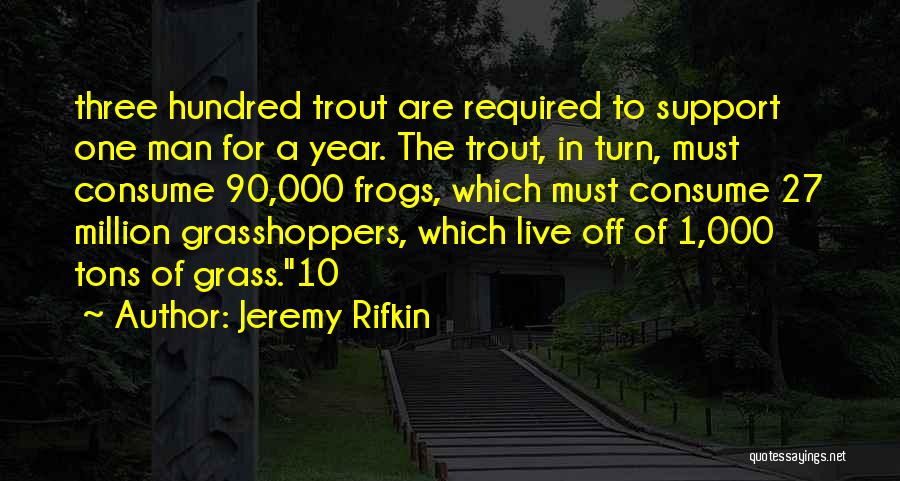 Turn Off Quotes By Jeremy Rifkin
