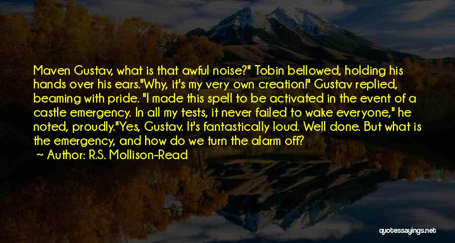 Turn Off Quotes By R.S. Mollison-Read