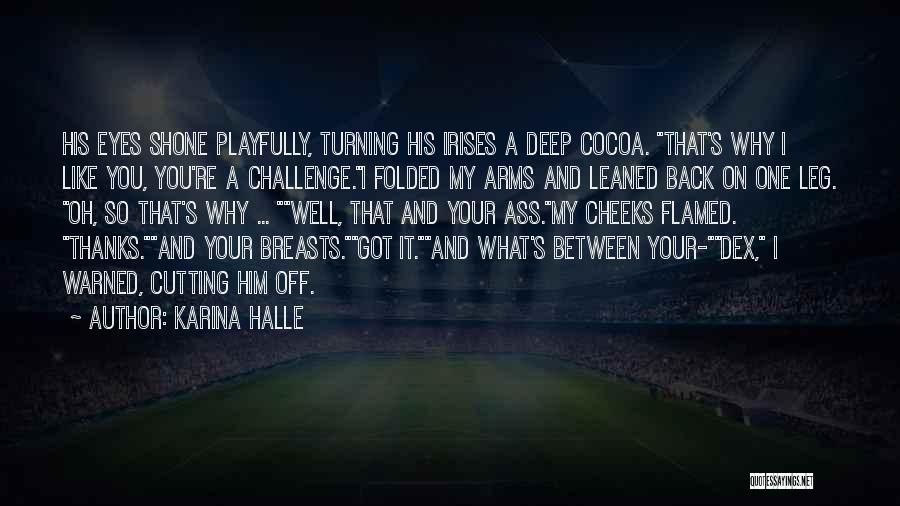 Turning My Back Quotes By Karina Halle