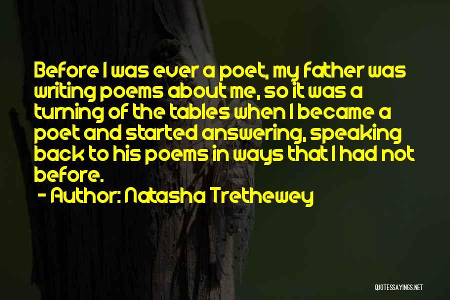 Turning My Back Quotes By Natasha Trethewey