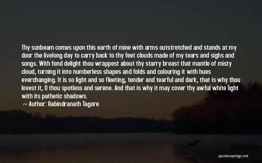 Turning My Back Quotes By Rabindranath Tagore