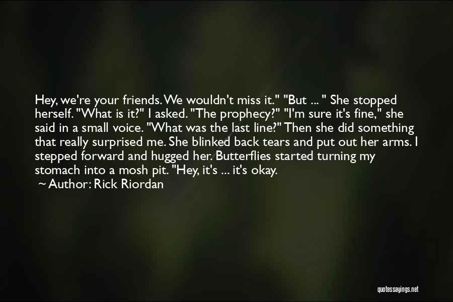 Turning My Back Quotes By Rick Riordan