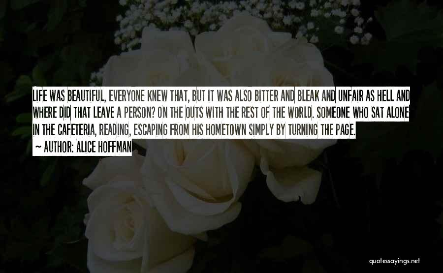 Turning Page Quotes By Alice Hoffman