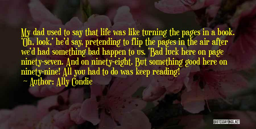 Turning Page Quotes By Ally Condie