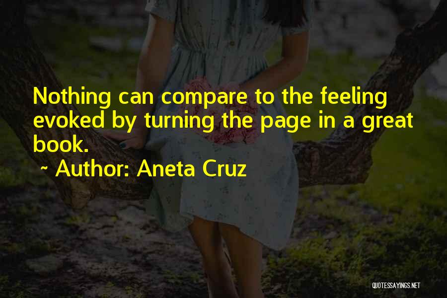 Turning Page Quotes By Aneta Cruz