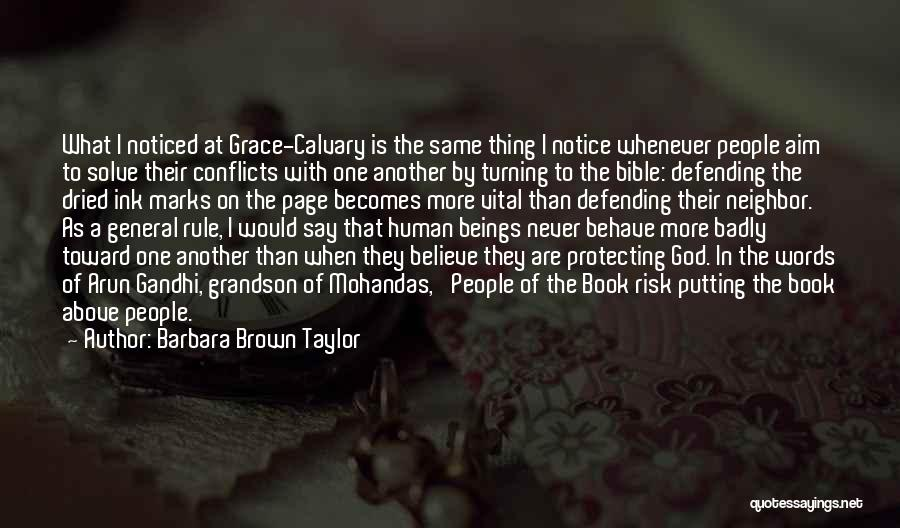 Turning Page Quotes By Barbara Brown Taylor