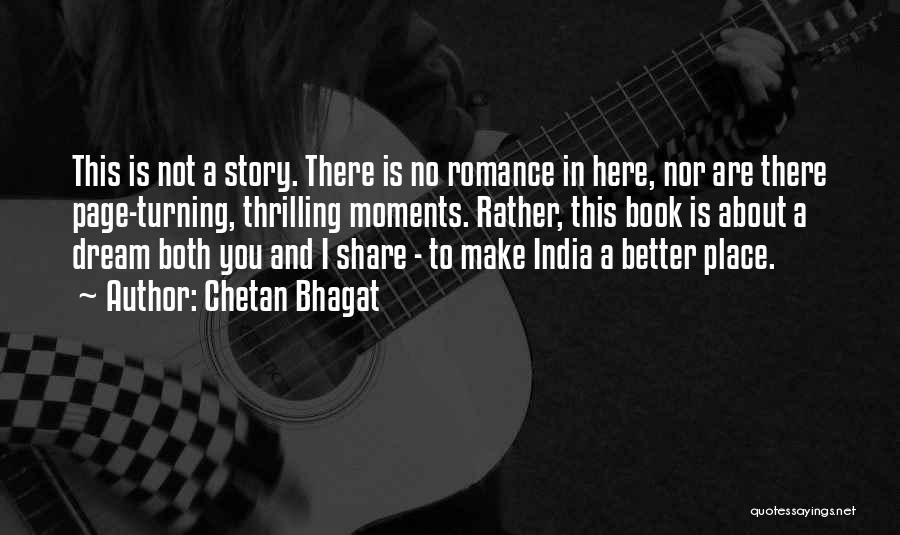 Turning Page Quotes By Chetan Bhagat