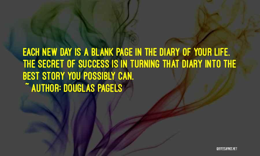 Turning Page Quotes By Douglas Pagels