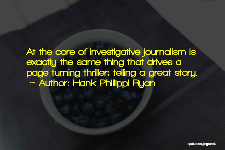 Turning Page Quotes By Hank Phillippi Ryan