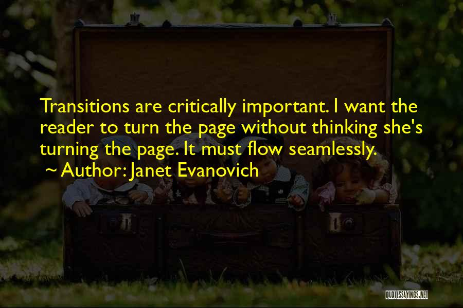Turning Page Quotes By Janet Evanovich