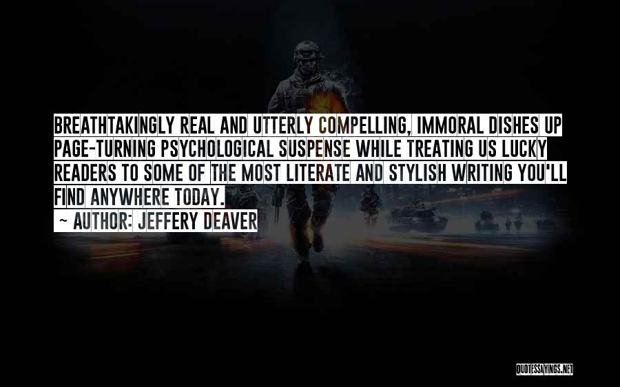 Turning Page Quotes By Jeffery Deaver
