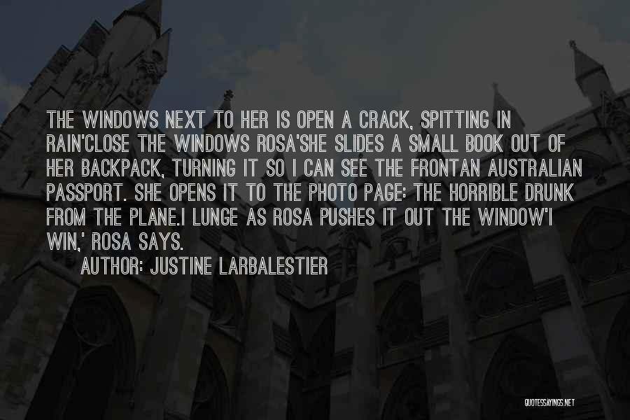 Turning Page Quotes By Justine Larbalestier