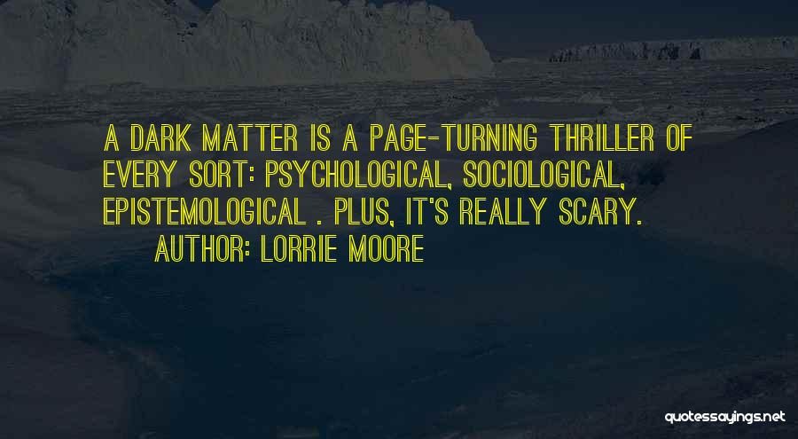 Turning Page Quotes By Lorrie Moore