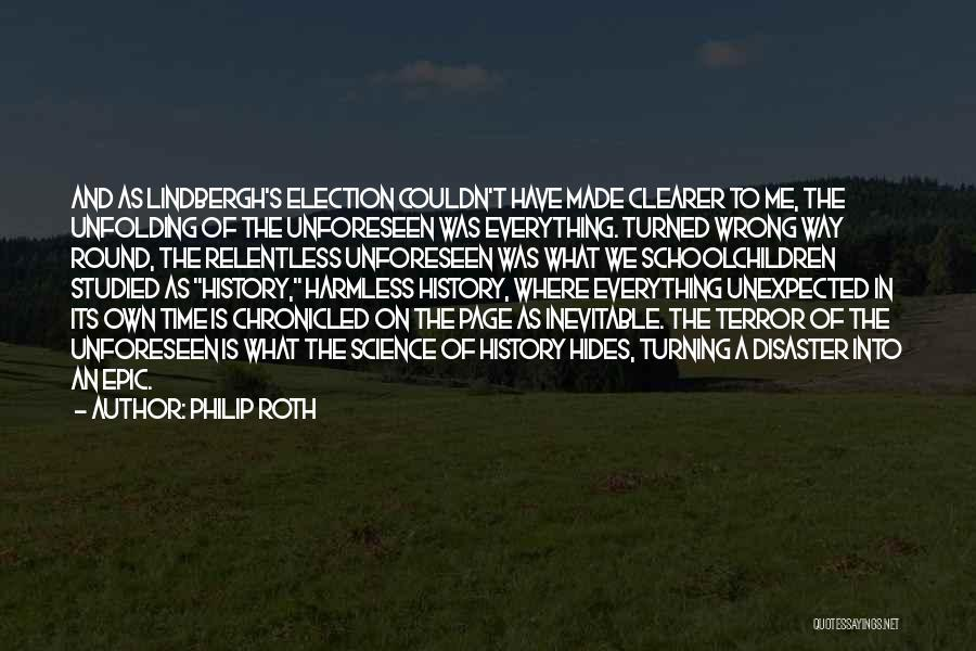 Turning Page Quotes By Philip Roth