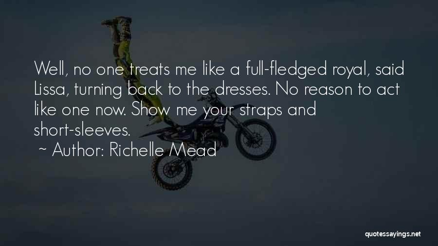 Turning Page Quotes By Richelle Mead