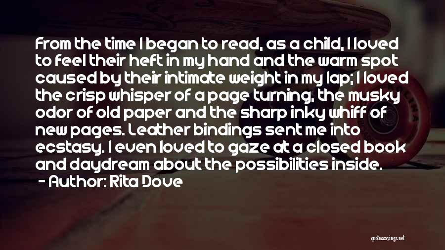 Turning Page Quotes By Rita Dove