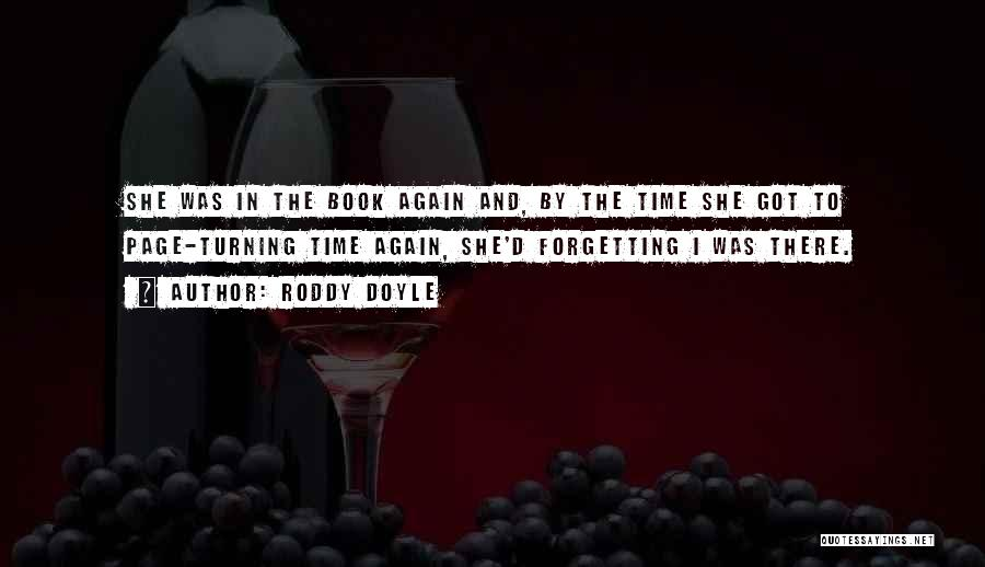 Turning Page Quotes By Roddy Doyle