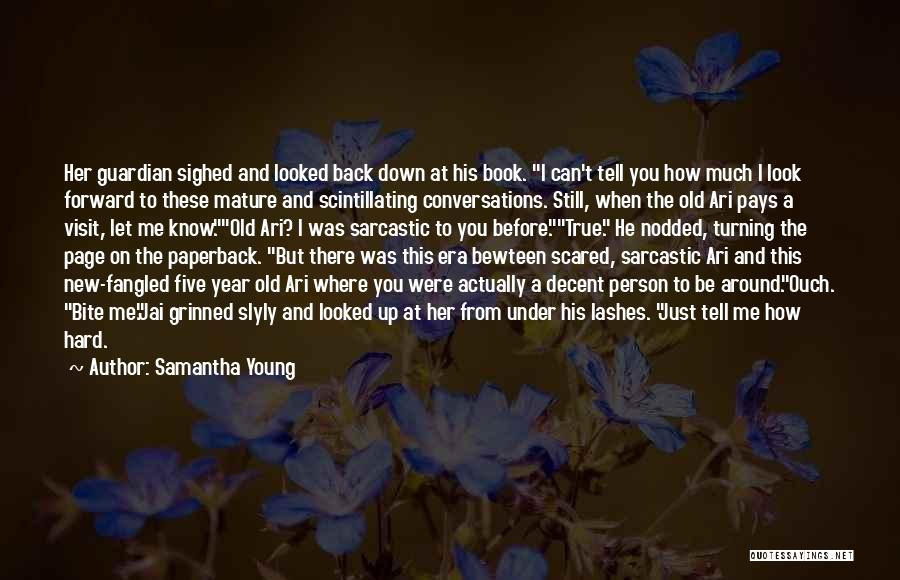 Turning Page Quotes By Samantha Young
