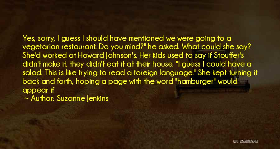 Turning Page Quotes By Suzanne Jenkins