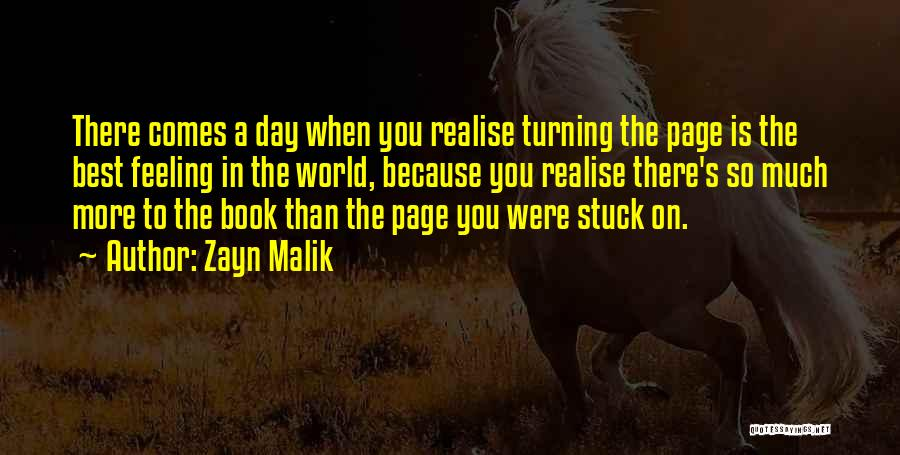 Turning Page Quotes By Zayn Malik
