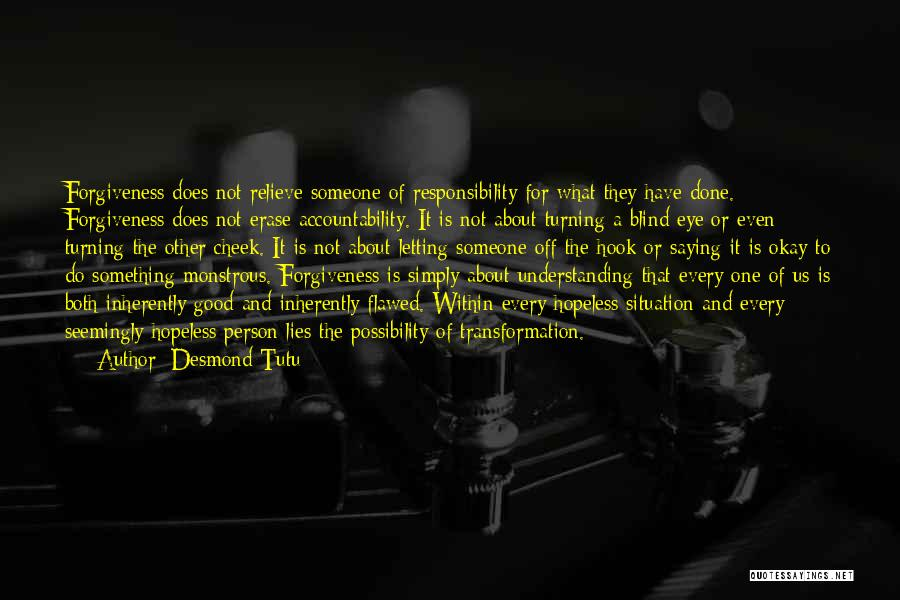 Turning The Other Cheek Quotes By Desmond Tutu