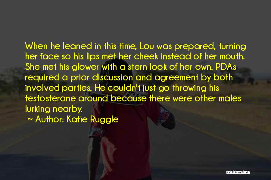 Turning The Other Cheek Quotes By Katie Ruggle