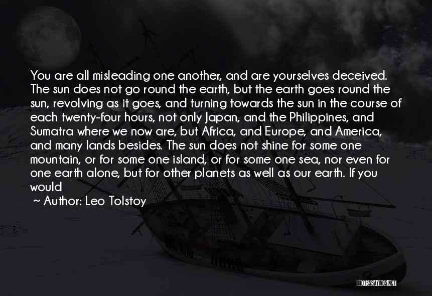Turning Twenty One Quotes By Leo Tolstoy