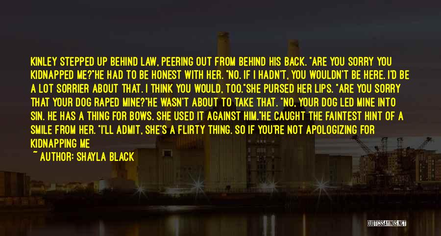 Turning Your Back On Your Mother Quotes By Shayla Black