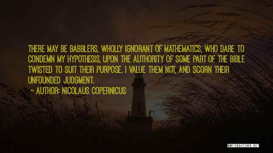 Twisted Bible Quotes By Nicolaus Copernicus