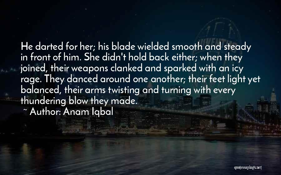 Twisting The Story Quotes By Anam Iqbal