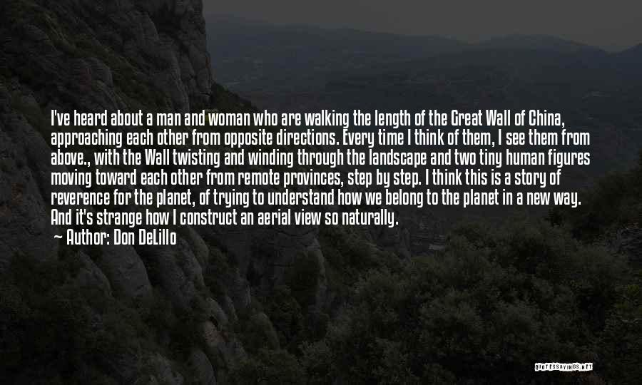 Twisting The Story Quotes By Don DeLillo