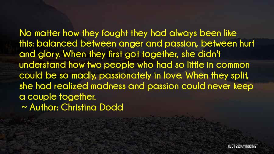 Two Couples Love Quotes By Christina Dodd