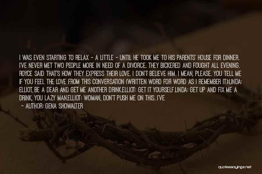 Two Couples Love Quotes By Gena Showalter