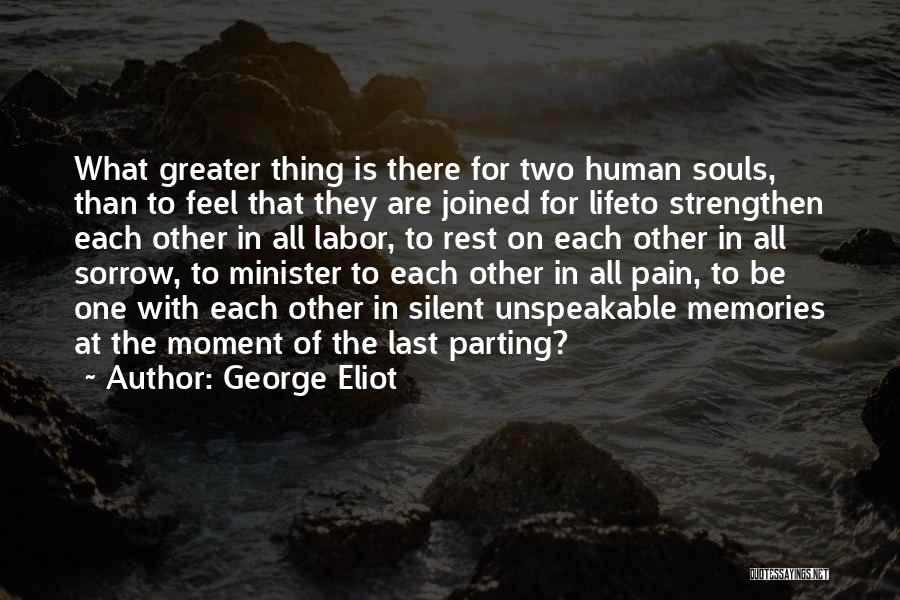 Two Couples Love Quotes By George Eliot