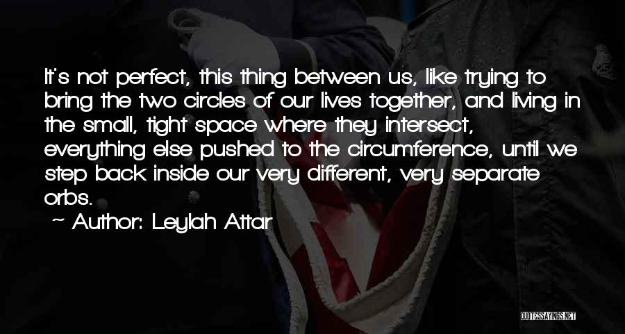 Two Different Lives Quotes By Leylah Attar