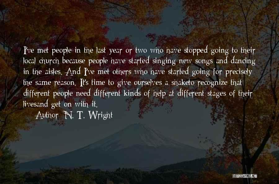Two Different Lives Quotes By N. T. Wright