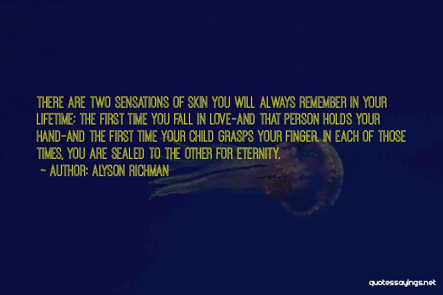 Two Person In Love Quotes By Alyson Richman
