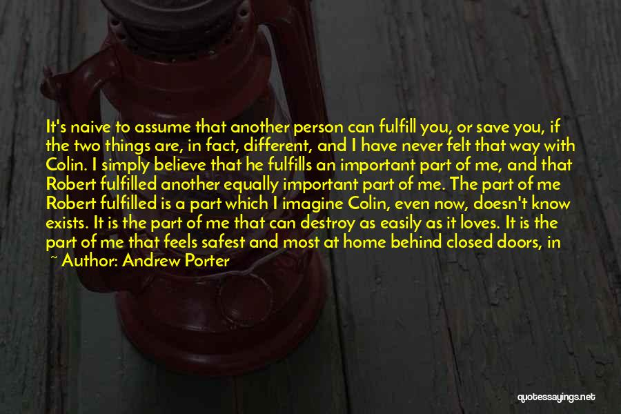 Two Person In Love Quotes By Andrew Porter